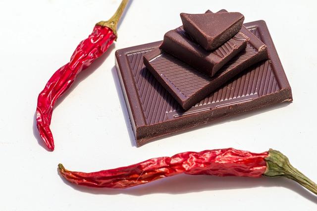 čokoláda s chili papričkou