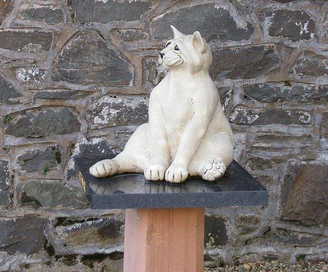 kočka dekorace