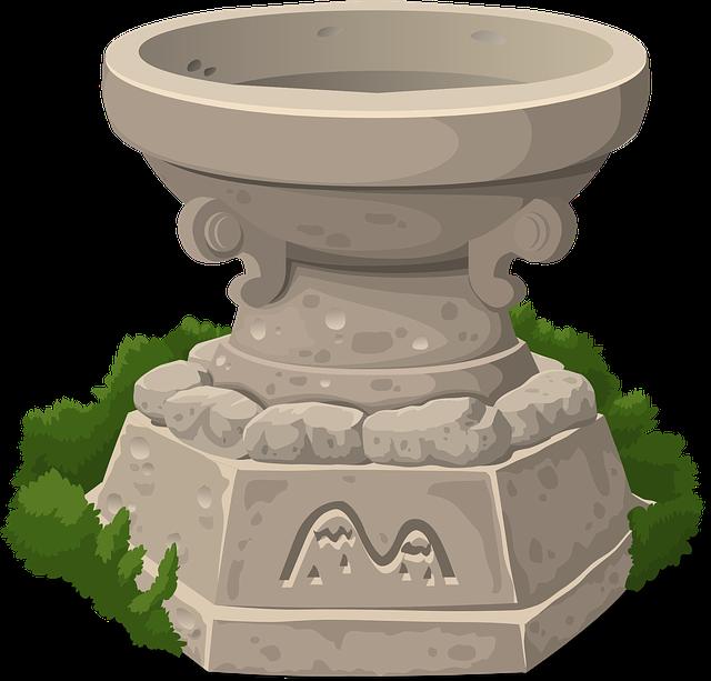 kamenná váza