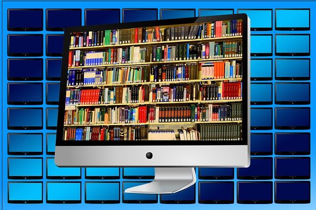 knihovna v pc