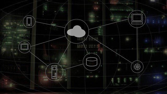computing koncept cloud