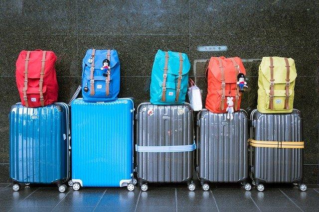 zavazadla na dovolenou