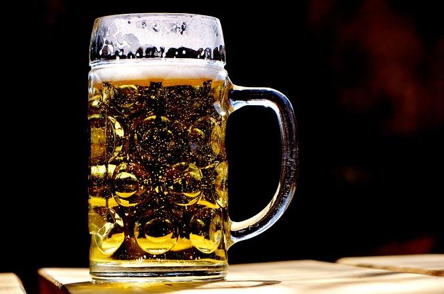pivní hrnek