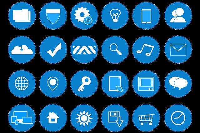 ikony aplikací