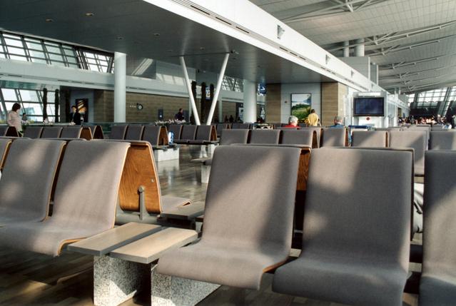 Odletová hala na letišti