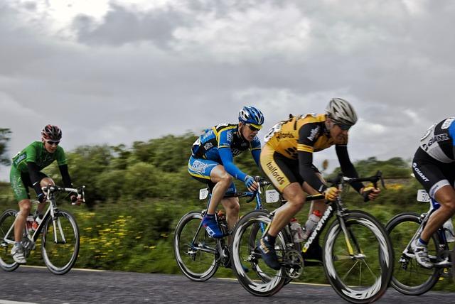 profesionální cyklisté