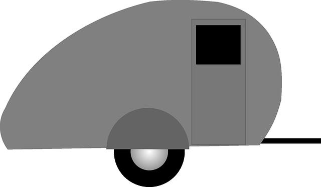 Malý pojízdný domek
