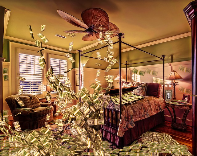 létající dolary